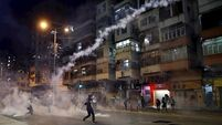 Tear gas fired in new Hong Kong protest as police vow 'to bring all culprits to justice'
