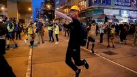 China condemns US politicians' support for Hong Kong protests