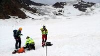 German woman dies in climbing accident on glacier in Italy