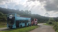 Brexit Party bus left abandoned with doors open on Welsh road 'had mechanical fault'