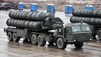 Russian S-400 missile defence system arrives in Turkey