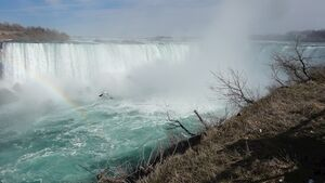 Man survives after being swept over waterfall at Niagara Falls