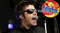 Liam Gallagher heralds Tayto as 'the best crisps in the universe'