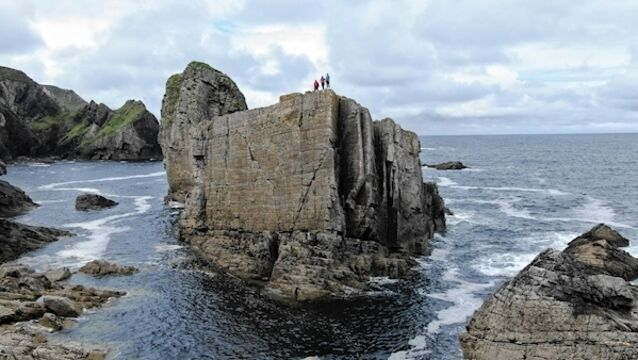Islands of Ireland: Islands stack up in Donegal