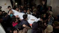 Three young Palestinians killed as tens of thousands join Gaza Strip protest