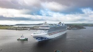 Watch: Luxury cruise liner arrives in Cork