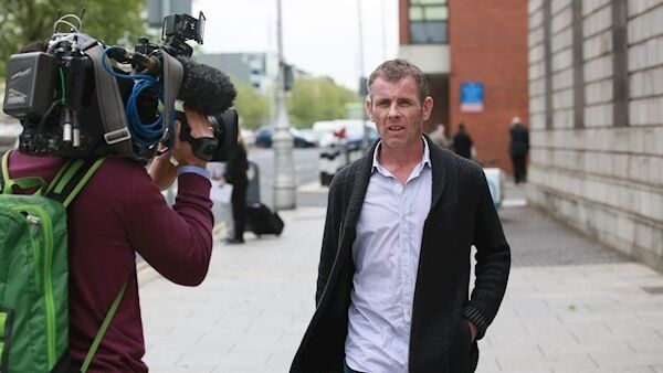 William Anthony (Tony) Rochford was jailed for criminal damage after a dangerous stunt on the M50 in a bid to highlight what he saw as a terrible injustice over the fatal fire. Picture: Paddy Cummins