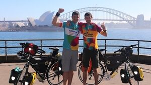 Two Irishmen plan to cycle from Sydney to Dublin, across 28 countries, to raise money for sick children