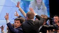 Comedian heads for landslide victory in Ukraine presidential election