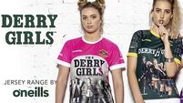 Sweet suffering Jehovah! O'Neills have released a range of Derry Girl GAA-style jerseys