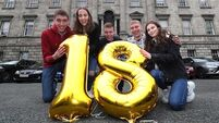Ireland's only quintuplets return to Rotunda to celebrate 18th birthday