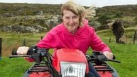 85-year-old sheep farmer Mary O'Sullivan has plenty of mountains still to climb