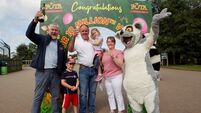 10 millionth visitor to Fota Wildlife Park wins prize of a lifetime