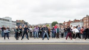 Watch: Northsiders win titanic tug of war challenge in Cork