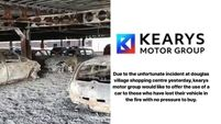 Cork car dealership offers those affected by shopping centre fire the free 'use of a car'