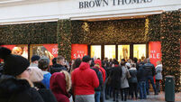 Brown Thomas to open their Christmas store today...132 days early