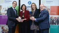 Cork and Limerick Chambers win award for M20 collaboration