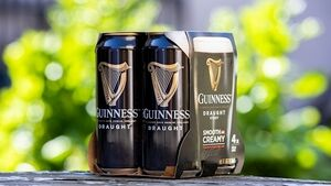 Guinness maker to remove plastic from beer packaging