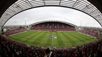 Thomond Park profit almost halved to €122,000 last year