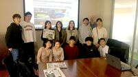 Challenges facing the media discussed during Japanese students visit to Cork