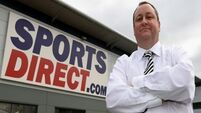 Sports Direct shares plunge after results fiasco