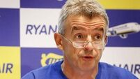 Ryanair says up to 900 jobs at risk with unknown number of Irish jobs affected