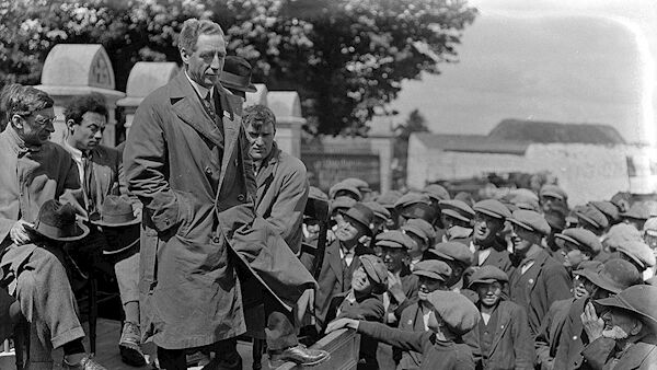The republican defence minister Cathal Brugha. Photograph courtesy National Library of Ireland.