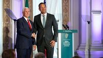 Pence's welcome to Ireland thaws as he throws support behind Boris and Brexit