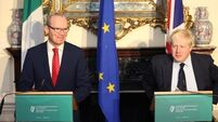 Coveney not far ahead of Johnson in diplomatic race around Europe