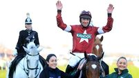 Tiger Roll takes second Grand National - Davy Russell wins and inspires