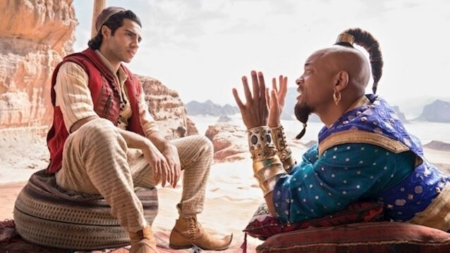 Will Smith lets the Genie out of the bottle about Aladdin