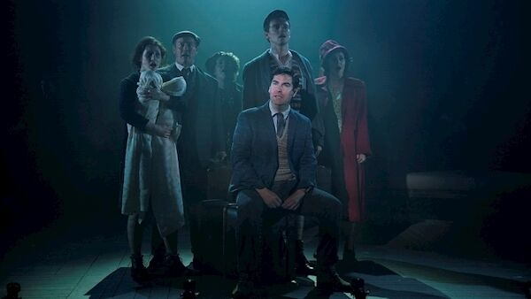 Members of the cast of Angela's Ashes- The Musical . Picture: Patrick Redmond