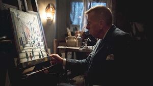 Timothy Spall takes on new role as artist LS Lowry