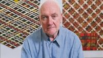Sean Scully comes back to Ireland to be honoured in his birthplace