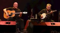 Christy Moore on fire for Marquee gig