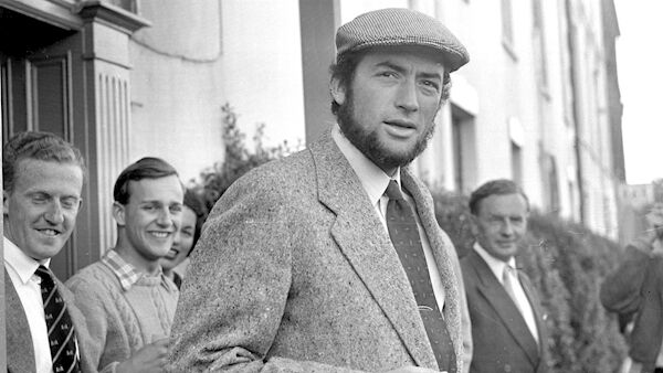 Gregory Peck in Youghal in 1954. Picture: Irish Examiner Archive