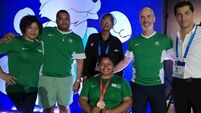 Cavan para powerlifter Britney Arendse upgraded to bronze medal after doping violation by UAE athlete