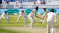 England's Jack Leach frustrates Ireland on second morning of Lord's Test