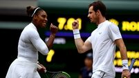 Serena mixes it up with success on the double at Wimbledon