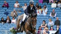 Irish riders dominate international competitions in opening day of Dublin Horse Show