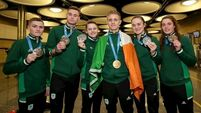 Irish athletes return with medal haul from European Games