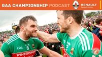 Quirke's Football Podcast: Mayo's rock-solid bunch of people. Dubs demystified. Kerry need dogs