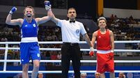Ireland's Walker and Walsh progress in boxing, but Gardiner leaves European Games