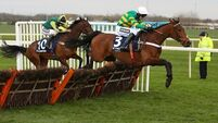 Barry Geraghty a doubt for Grand National after suspected leg fracture