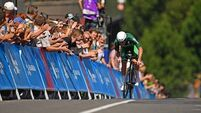 Ireland's Ryan Mullen a single second off time trial medal at European Games