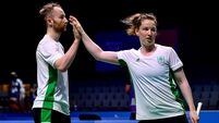 Badminton's Magees and Ireland's track cyclists advance on day seven in Minsk