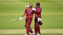 Campbell and Hope's record opening partnership hands West Indies win over Ireland