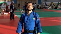 Nathon Burns on fire in European Games judo