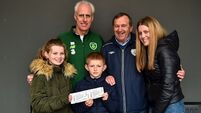 Mick McCarthy donates tickets to father's hometown club