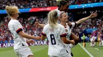 USA knock out hosts France to set up Women's World Cup semi-final with England